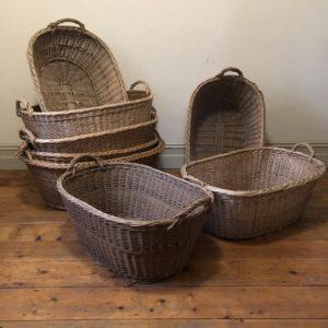 FUST 151 Mid century wicker baskets