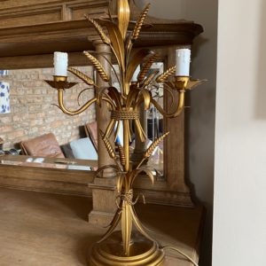 German gilt wheat lamp