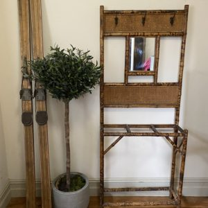 Art Deco Style Bamboo Hall Stand