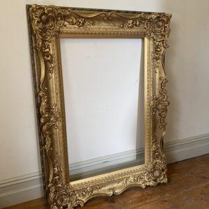 Huge Ornate Gold Picture Frames