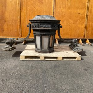 Victorian Cast iron lantern.